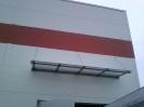 Daszek prosty nad TIRA wys.4,10m