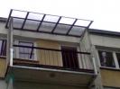 Daszek balkonowy prosty